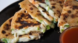 Chili Cheese Paratha Recipe  Cheese Stuffed Paratha  Breakfast Recipe By Teamwork Food