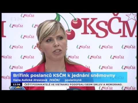 Tisková konference KSČM - 6. 6. 2015