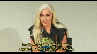 Emotion Revolution: Lady Gaga Talks About Depression and Anxiety in Yale University (2015)
