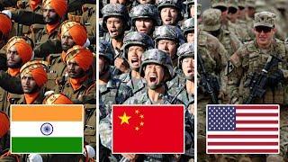Die 10 größten Armeen der Welt!