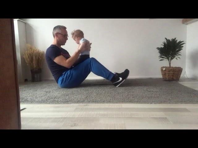 Buik en rugspieren versterken samen met je baby