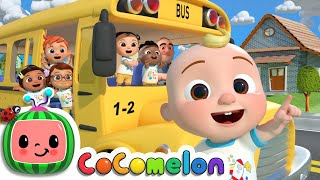 Wheels On The Bus (School Version) | CoComelon Nursery Rhymes & Kids Songs
