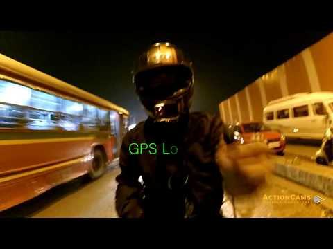 GitUp G3 Duo Review | Dual-Cam & GPS | Night Sample Footage