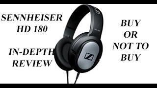 Sennheiser HD180 Headphones Review Pros & Cons