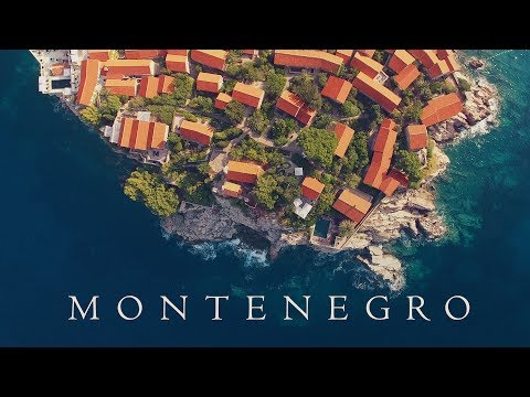 Best of all Montenegro Budva Kotor travel drone aerial / Вся