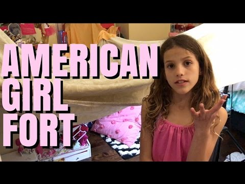 American Girl Doll Fort