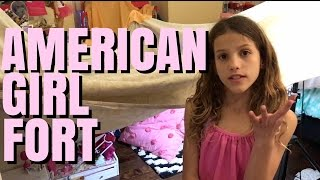 American Girl Doll Fort