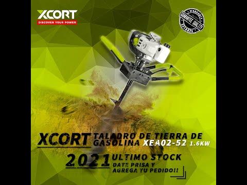 XCORT HERRAMIENTAS taladro de tierra de gasolina XEA02-52