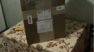 Русский eBay - Вскрытие большой посылки с eBay из США с металлоискателем Garrett ACE 350