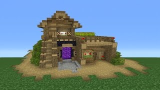 Minecraft Tutorial: How To Make The Ultimate Survival House