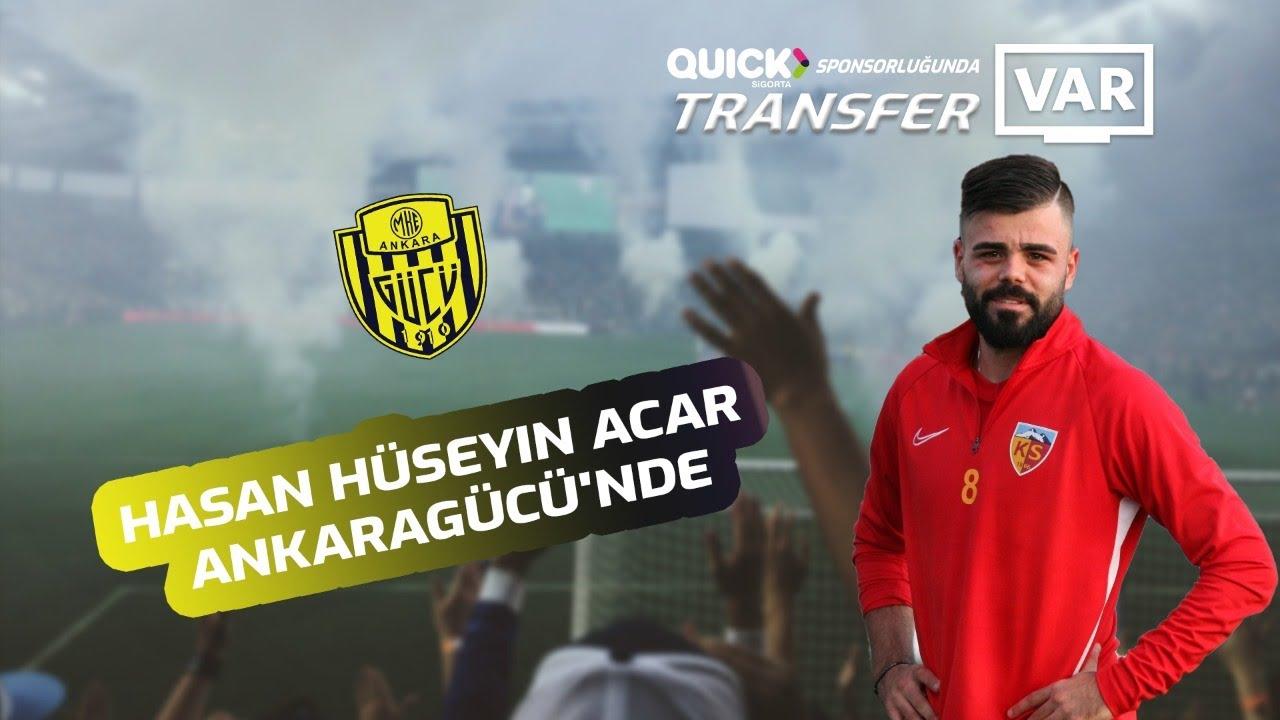 Hasan Hüseyin Acar Ankaragücü'nde... Tüm detayları ile #TransferVAR'da...