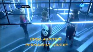 closed audition f x permanent group