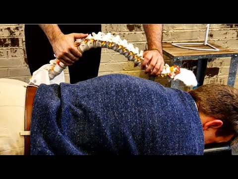 *GREAT* Chiropractic Adjustment by World-Renowned Chiropractor Dr Joseph Cipriano