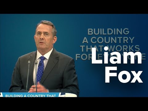 Liam Fox: Speech to Conservative Party Conference 2017