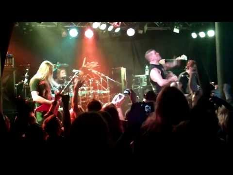 Annihilator feat. Timo - King Of The Kill (live @ Klubi, Tampere)