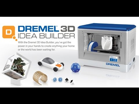 review on the dremel 3d idea builder youtube. Black Bedroom Furniture Sets. Home Design Ideas
