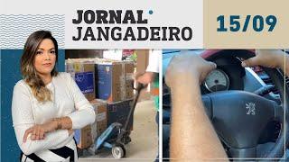🔴 AO VIVO: Jornal Jangadeiro 2ª edição 15/09/21 - Chegada de vacinas, sequestro motorista de app