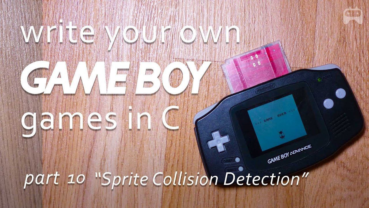 """Download """"Sprite Collision Detection"""" - Part 10 Program Gameboy games - write your own Game Boy game"""