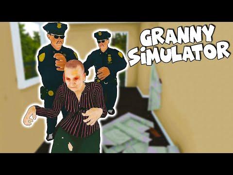Granny Simulator - UNUK POZVAO POLICIJU! W/ CeriX