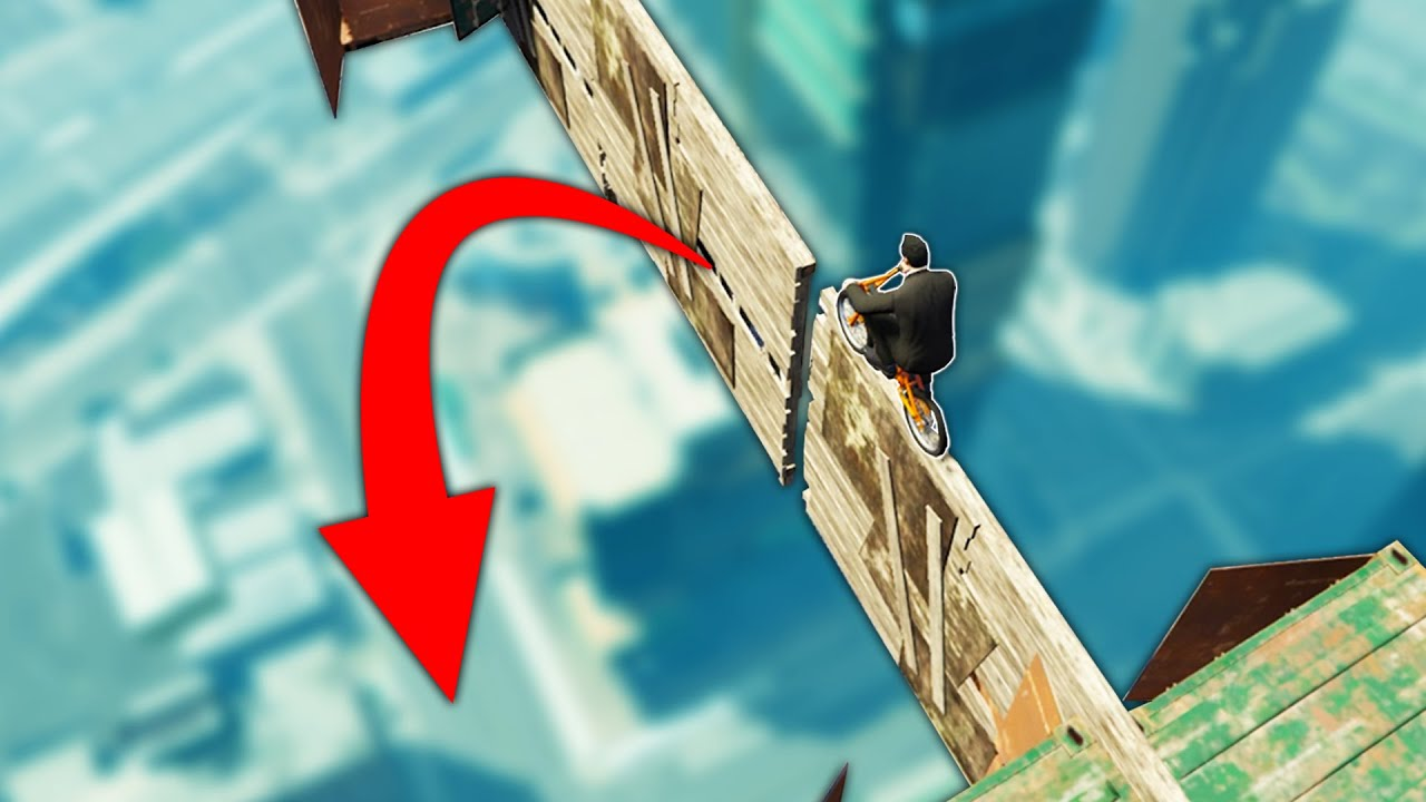 The CRAZIEST BMX Obstacle Course! (GTA 5 Online)