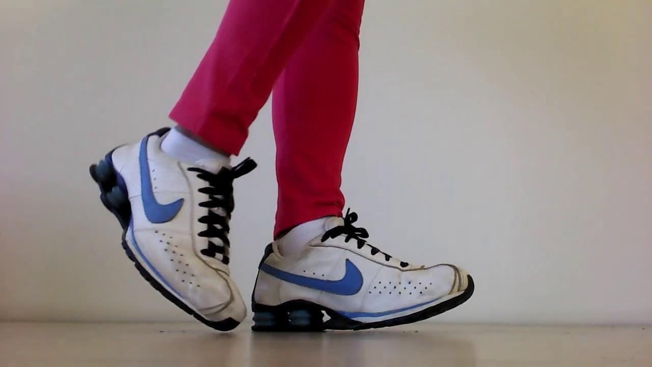 7814e53106b ... Nike Shox Classic White and Blue dunk nike a0de3 10d5c  nike cortez red  white blue brand sale ...