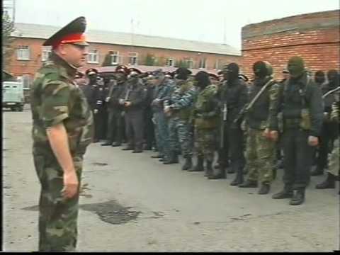 Генерал Медов. Рейдовые мероприятия в г. Назрань.
