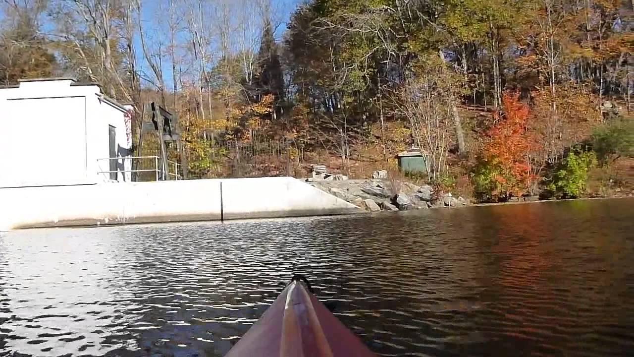 Kayak NJ Morning Musconetcong River Paddle to Saxon Falls 102315