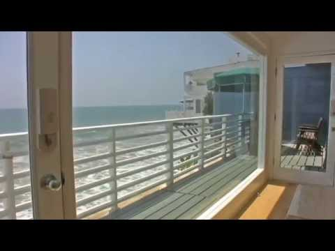 """Walls of Glass"" Malibu Beach Oceanfront Vacation Rental"