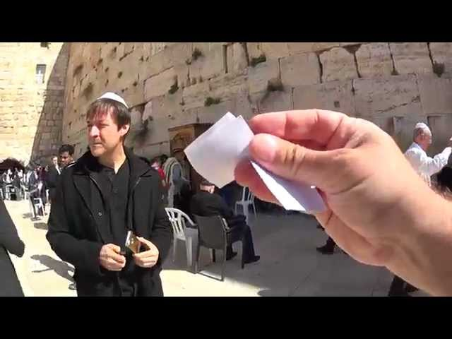 The Western Wall, Jerusalem - a visit the most important Jewish site