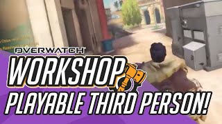PTR Overwatch Workshop Playable Third Person