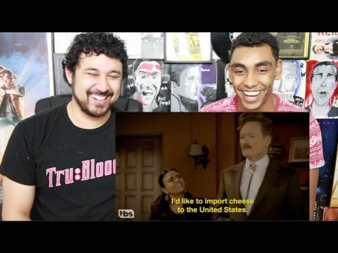 CONAN Guest Stars In A Mexican TELENOVELA REACTION & DISCUSSION!