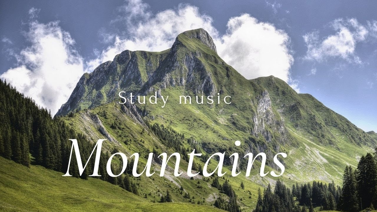 Download Relaxing MOUNTAINS , VOLCANOES - STUDY MUSIC | Drone Film UHD Calming Music | Aerial Nature Footage