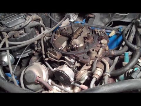 Detailed Quadrajet Carburetor Rebuild Classic G-Body ...