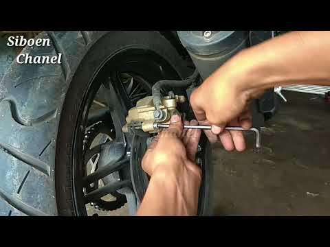 Yamaha R15 ganti kampas ,kamu bisa sendiri#Siboen tutor