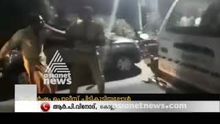Police officers attacked by Drunken Gang in Punalur | FIR 15 DEC 2018