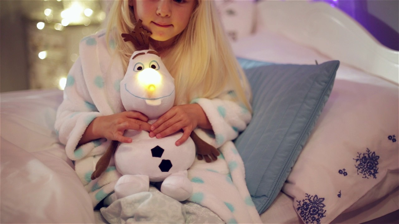 Frozen Slaapkamer Lamp : Frozen lamp olaf youtube
