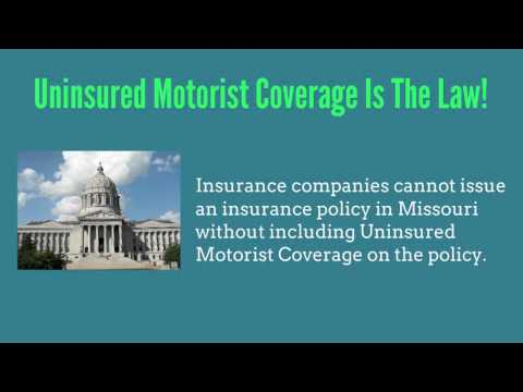 Missouri auto insurance uninsured motorist coverage for What is uninsured motor vehicle coverage