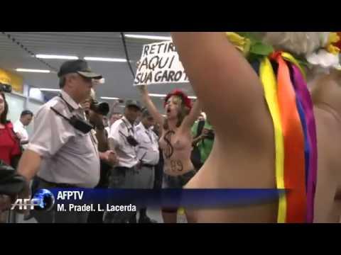 Femen Brazil Protest
