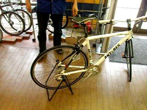 自転車の 自転車 スタンド 縦置き 自作 : ディスプレイスタンドの ...