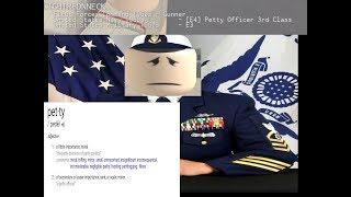 [ROBLOX] Killing Petty Officers Trolling