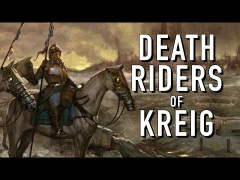 40 Facts and Lore on the Death Riders of Kreig Warhammer 40K