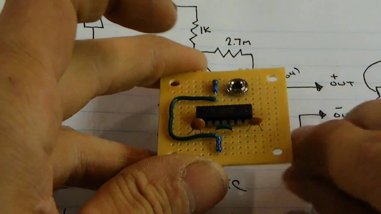 Electronics project: super hearing aid - YouTube