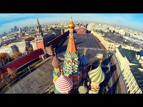 Смотреть Beautiful Moscow city FPV aerial flights/ Москва с вертолета/ Part 2 онлайн