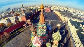 Beautiful Moscow city FPV aerial flights/ Москва с вертолета/ Part 2