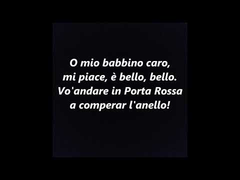 O MIO BABBINO CARO KARAOKE INSTRUMENTAL BACKING TRACK Puccini SING ALONG SONGS
