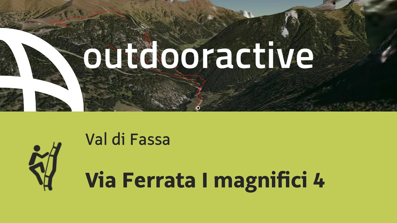 Klettersteig Magnifici Quattro : Klettersteig im val di fassa: via ferrata i magnifici 4 youtube