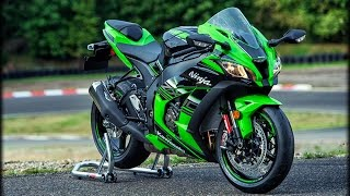 Kawasaki Ninja ZX-10R Exhaust Sound Compilation