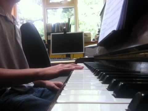 Hallelujah Alexandra Burke On Piano Youtube