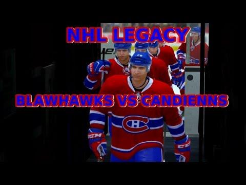 NHL Legacy Edition Chicago Blackhawks vs Montreal Canadiens Jan 14 2016