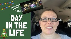 Day In The Life | Christmas Light Tour GIlbert AZ | Vlogmas Day 18